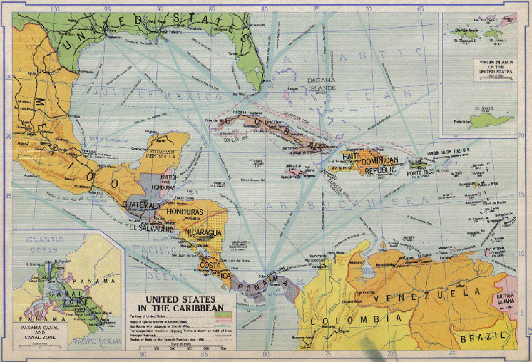 United_States_in_the_Caribbean_Map